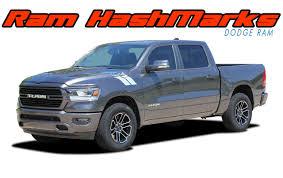 100 Ram Truck Decals HASH MARKS Dodge Stripes Fender Vinyl Graphics