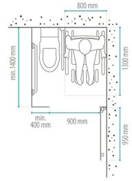 cabine salle de bain pmr equipement accessibilité normes