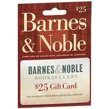 Barnes & Noble $25 Gift Card