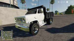 100 Chevy Dump Trucks C70 Truck V10 FS19 Farming Simulator 19 Mod FS19 Mod
