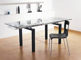 glass dining room table with extension dining room decor ideas