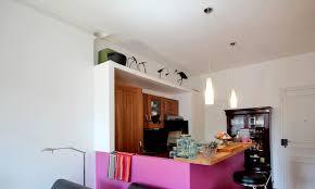 cuisine au milieu de la une chambre au milieu du salon architecture d intérieur agence avous