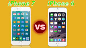 pare new iPhone 7 vs iPhone 6 features and Specification