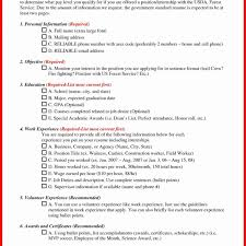 10 Resume Examples For Government Jobs Cover Letter
