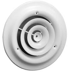 Round Ceiling Air Vent Deflector by Ceiling Diffusers Hart U0026 Cooley