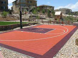 How Does A Backyard Court Affect Your Property Values? | Sport Court Multisport Backyard Court System Synlawn Photo Gallery Basketball Surfaces Las Vegas Nv Bench At Base Of Court Outside Transformation In The Name Sketball How To Make A Diy Triyaecom Asphalt In Various Design Home Southern California Dimeions Design And Ideas House Bar And Grill College Park Half With Hill