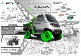 ALEDAN Mini Pickup Truck Concept By Brian Hernan Isabella - Tuvie