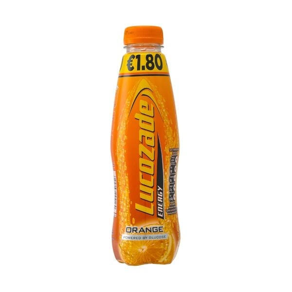 Lucozade Energy Sports Drink - Orange, 500ml
