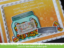Garfield Halloween Special Candy Candy Candy by Lawn Fawn Intro How You Bean Candy Corn Add On Pumpkin Spice