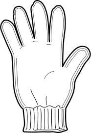Glove Clipart Black And White ClipartXtras