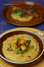 Pumpkin Hummus Recipe My Kitchen Rules by Roasted Pumpkin Hommus With Spiced Tuna My Kitchen Stories
