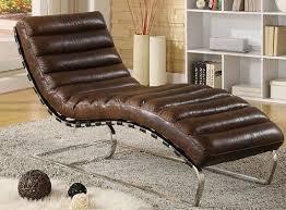 phoenixarts chaise echtleder vintage leder relaxliege braun