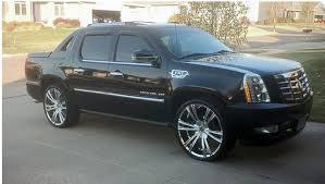 2Crave No 12 Chrome Wheels on Cadillac Escalade EXT Wheels