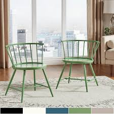 100 2 Chairs For Bedroom Html Shop Truman Low Back Windsor Dining Chair Set Of By INSPIRE Q