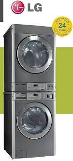 colonne complète lave linge et sèche linge pro 11kg harik