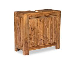 woodkings waschbeckenunterschrank leeston echtholz