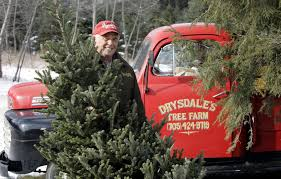 Doug Drysdale Sr Standing Infront Of His Antique Ford Pickup Shows Off A Fraser