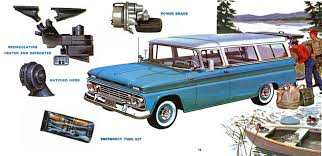 100 Truck Accessories Chevrolet 1962 Brochure