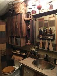 Photos Of Primitive Bathrooms by Love This Instead Of Chair Rail For My Bathroom Primitive Love