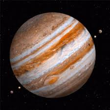 Jupiter Is The Largest Planet In Solar System It Has 67 Moons Which Orbit Around Spot Lower Left Great Red A Giant Storm