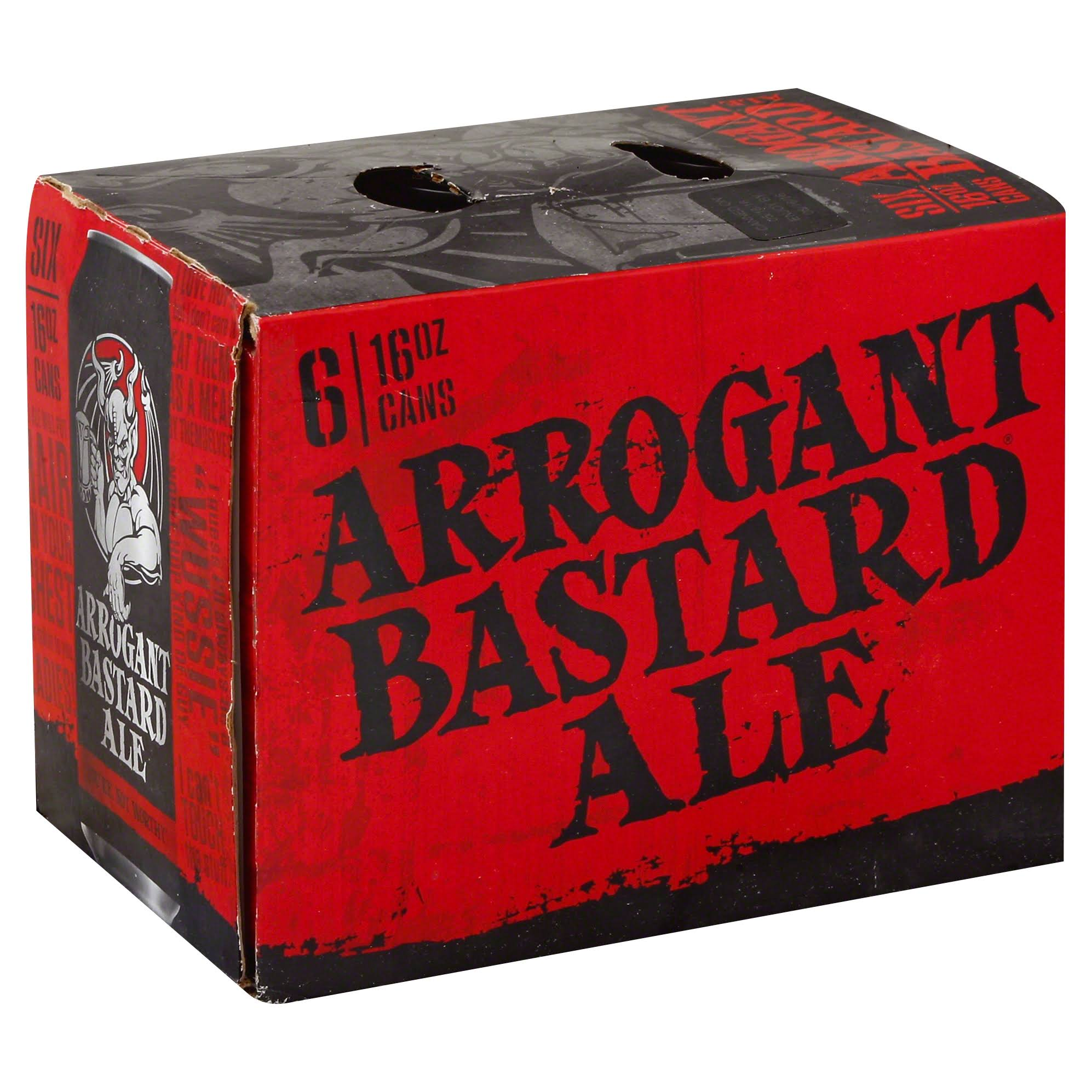 Stone Brewing Arrogant Bastard Ale - 6pk, 16oz