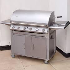 barbecue cuisine mountain premier 6 burner gas barbecue best bbqs bbq