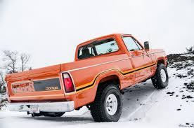 100 1975 Dodge Truck BangShiftcom 1978 W100 Powerwagon
