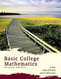 Basic College Mathematics 7th Edition