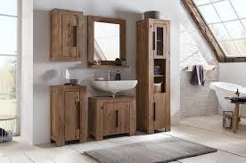 woodkings bad set auckland echtholz akazie massiv badmöbel set badezimmerset badschrank set bad design massivholz