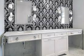 damask tile for bathroom contemporary bathroom artsaics