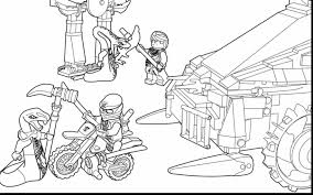 Awesome Lego Ninjago Coloring Pages With And Golden Ninja Stunning