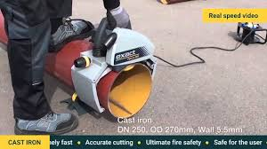 Skil Flooring Saw Canada by Exact Pipecut System 280e The Fastest Cast Iron Cutting Canada
