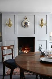 Georgian Dining Room by Panelled Grey Small Dining Room Ideas Decorating Small Spaces