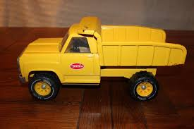 VINTAGE 1970 TONKA Yellow Pressed Steel Dump Truck XR-101 - $17.45 ...