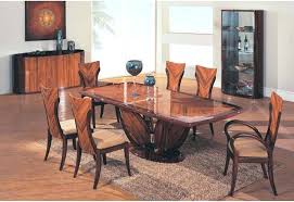 Wooden Dining Table Set Designs Modern Wood Room Inspiring Goodly