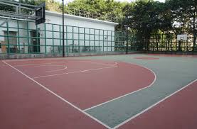 How To Make A DIY Backyard Basketball Court Multisport Backyard Court System Synlawn Photo Gallery Basketball Surfaces Las Vegas Nv Bench At Base Of Court Outside Transformation In The Name Sketball How To Make A Diy Triyaecom Asphalt In Various Design Home Southern California Dimeions Design And Ideas House Bar And Grill College Park Half With Hill