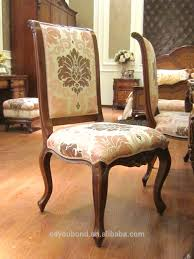 0051 Antique Luxury Classic Dining Room Sets Wood Table Furniture ...