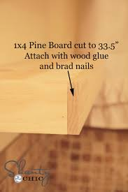 Wood Building Shelves by Easy Diy Floating Shelves Shanty 2 Chic