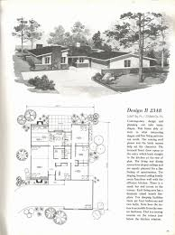 100 Mid Century Modern Home Floor Plans With