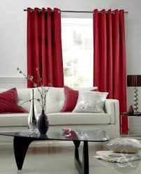 Red And Black Living Room Decorating Ideas by Best 25 Red Curtains Ideas On Pinterest Red Curtains Living