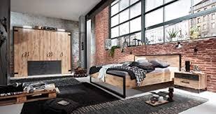 lifestyle4living schlafzimmer komplettset im angesagten