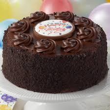 Happy Birthday Chocolate Fudge Layercake