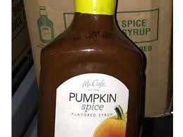 Dunkin Pumpkin Spice Syrup by Mcdonald U0027s Pumpkin Spice Latte Season May Have Early Start