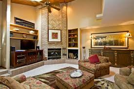 Living Room With Large Wall Decorating High Ceiling Walls Decorate Spaces