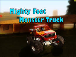 GTA San Andreas Mods - Mighty Foot Monster Truck - YouTube Grand Theft Auto San Andreas Review Gamesradar Subaru Legacy 1992 Monster Truck Gta Ford F350 Super Duty For Burrito Monster Sound New Handling Gta5modscom Nissan Skyline R32 4 Door Stretch Blue Thunder E250 By Pumbars Egoretz Gta Mods Maximum Destruction Infernus