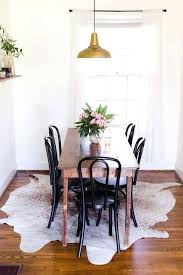 Area Rug Under Dining Room Table Best Ideas On Living With Regard To Round Placement Of