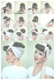 Cute Easy Vintage Hairstyles