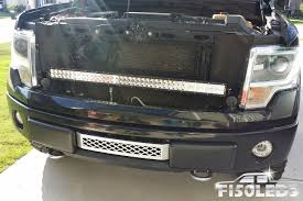 2009 14 42 led f 150 grill bar w custom mounts harness