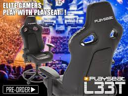 Playseat Elite Office Chair by Introducing Playseat L33t Playseathq