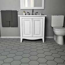 Home Depot Merola Lantern Ceramic Tile by Merola Tile Hexatile Matte Gris 7 In X 8 In Porcelain Floor And